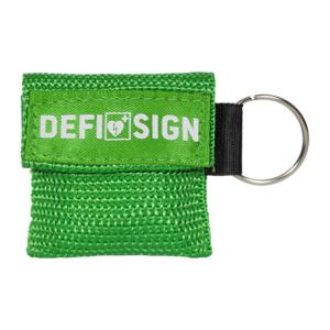 DefiSign masque bouche à bouche porte-clés