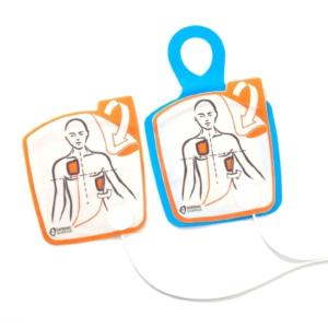 Cardiac Science Powerheart G5 électrodes de formation réutilisables