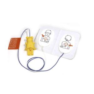 Philips Heartstart FR2/Laerdal trainer 2 électrodes de formation pédiatriques