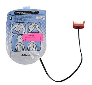 Defibtech électrodes de formation pédiatriques (1 paire)