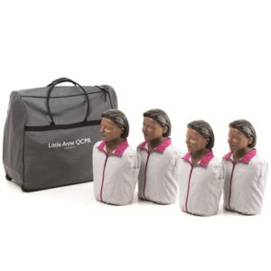 Pack de 4 Laerdal Little Anne QCPR - version noire
