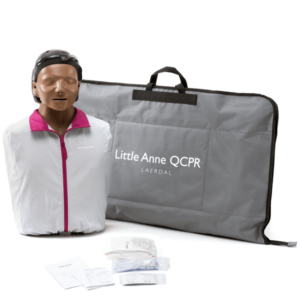 Laerdal Little Anne QCPR - version noire