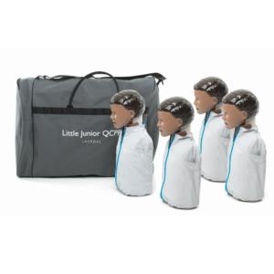 Pack de 4 Laerdal Little Junior QCPR (version noire)