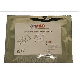 M&B AED 7000 électrodes