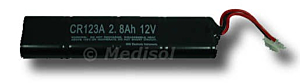 M&B AED 7000 batterie