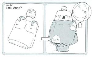 Adaptateur interne pour mannequin de formation