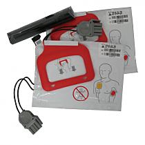 Physio Control LIFEPAK CR Plus Pile + 2 paires d'électrodes
