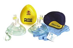 Laerdal masque bouche à bouche avec sac de transport