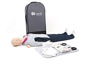 Laerdal Resusci Anne QCPR, corps entier, valise à roulettes