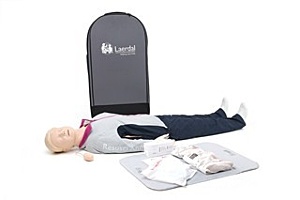 Laerdal Resusci Anne First Aid, Corps entier, valise à roulettes