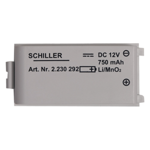Schiller Fred Easyport batterie