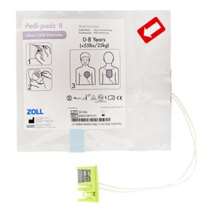 Zoll Pedi-Padz II électrodes pédiatriques